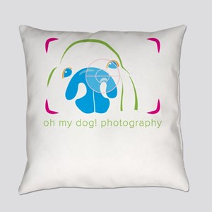 happy dogs photography Everyday Pillow