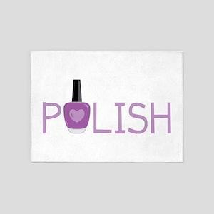 Nail Polish 5'x7'Area Rug