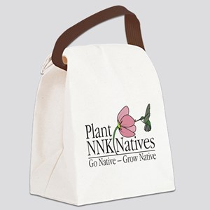 Plant Northern Neck Natives Logo Canvas Lunch Bag