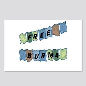 Free Burma Prayer Flags Postcards (Package of 8)