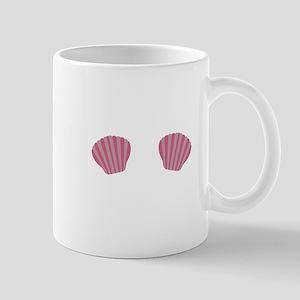 Pink Mermaid Bikini Mugs