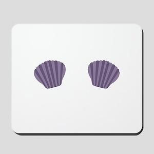 Purple Mermaid Bikini Mousepad