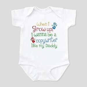 Copywriter Like Daddy Infant Bodysuit