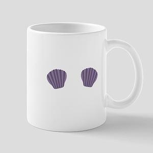Purple Mermaid Bikini Mugs