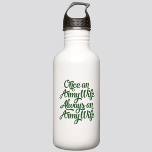 Once An Army Wife Stainless Water Bottle 1.0L