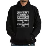 Aircraft mechanic Dark Hoodies