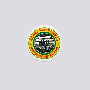 Vietnam Veterans Mini Button