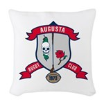 Augusta Rugby Woven Throw Pillow