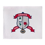 Augusta Rugby Throw Blanket