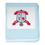 Augusta Rugby baby blanket