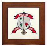 Augusta Rugby Framed Tile
