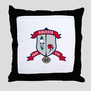Augusta Rugby Throw Pillow
