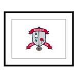 Augusta Rugby Large Framed Print