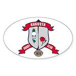 Augusta Rugby Sticker (Oval)
