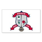 Augusta Rugby Sticker (Rectangle)