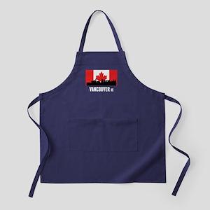 Vancouver BC Canadian Flag Apron (dark)