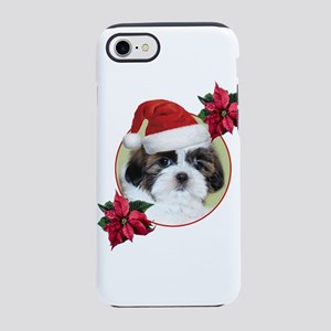 Christmas Shih Tzu dog iPhone 8/7 Tough Case