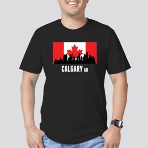 Calgary AB Canadian Flag T-Shirt