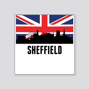 Sheffield British Flag Sticker