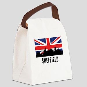 Sheffield British Flag Canvas Lunch Bag