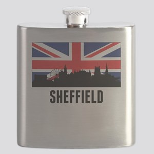 Sheffield British Flag Flask