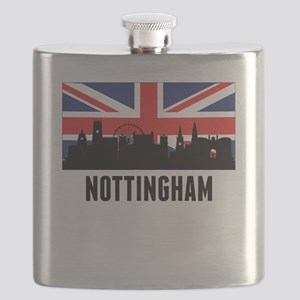 Nottingham British Flag Flask