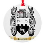 Robottom Round Ornament