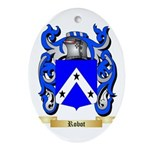 Robot Oval Ornament
