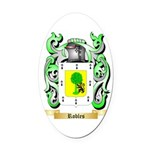 Robles Oval Car Magnet