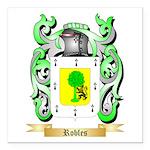 Robles Square Car Magnet 3