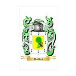 Robles Sticker (Rectangle 50 pk)