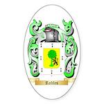Robles Sticker (Oval)