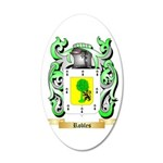 Robles 20x12 Oval Wall Decal