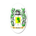 Robles 35x21 Oval Wall Decal