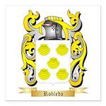 Robledo Square Car Magnet 3