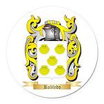 Robledo Round Car Magnet
