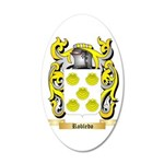 Robledo 20x12 Oval Wall Decal