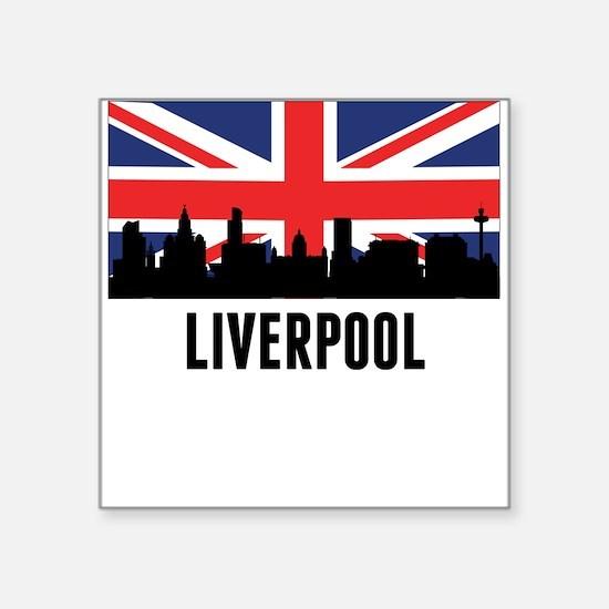 Liverpool British Flag Sticker