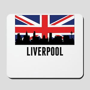 Liverpool British Flag Mousepad