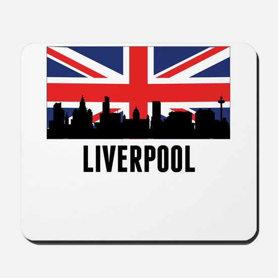 Liverpool British Flag Mousepad