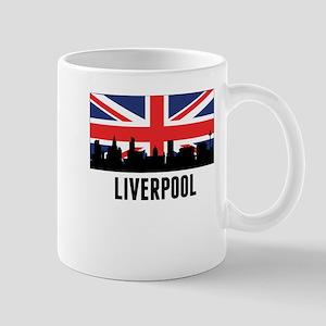 Liverpool British Flag Mugs