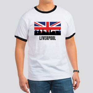 Liverpool British Flag T-Shirt