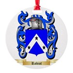 Robiot Round Ornament