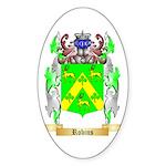 Robins Sticker (Oval)