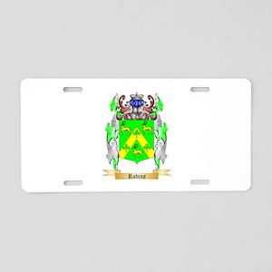 Robins Aluminum License Plate