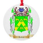 Robin Round Ornament