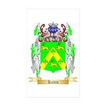 Robin Sticker (Rectangle 10 pk)