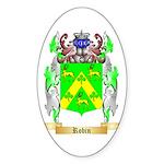 Robin Sticker (Oval 50 pk)