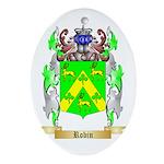 Robin Oval Ornament
