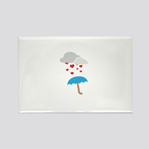Umbrella with hearts Magnets